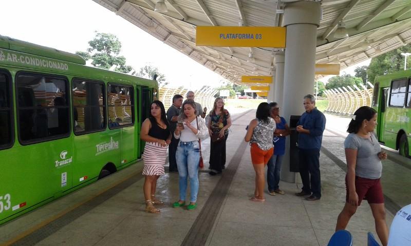 Novo sistema de transporte público é lançado em Teresina