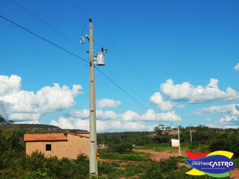 Povoado Santa Clara é beneficiado com o Programa Luz Para Todos