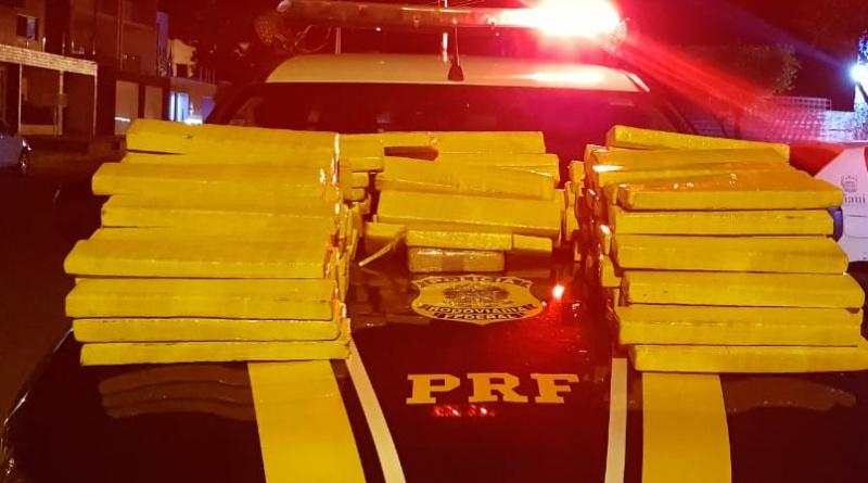 Homem é preso no Piauí com 148,4 kg de maconha vinda do Paraguai