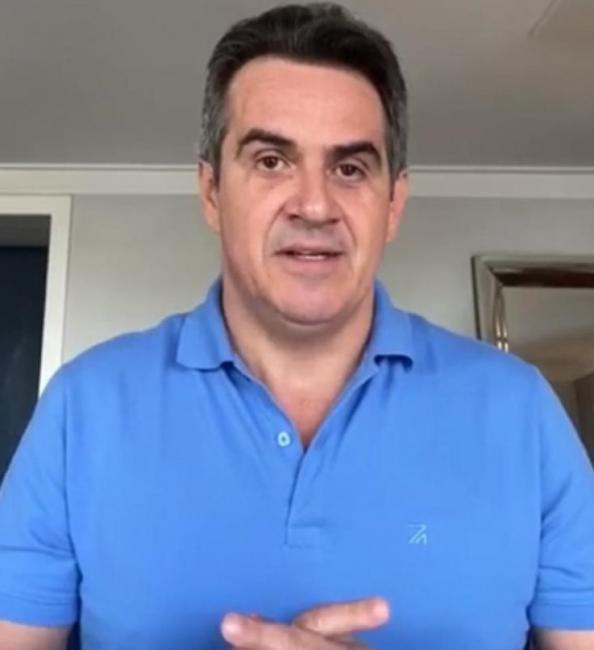 Ciro Nogueira anuncia que está com Covid-19