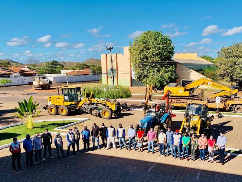Prefeitura de Corrente entrega oficialmente Patrulha Mecanizada