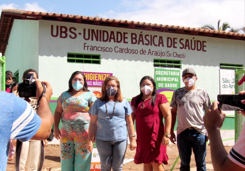Prefeitura de São João do Arraial entrega UBS na localidade Centro
