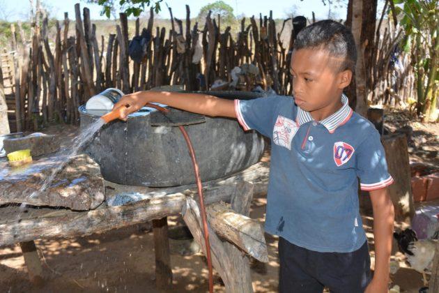 Prefeitura amplia abastecimento d'água na zona rural de Oeiras