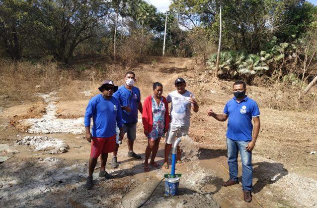 Novo sistema garante água de qualidade aos moradores do povoado em Oeiras