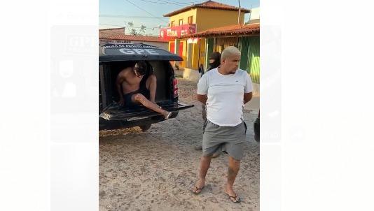 Vídeos:GPE-18/Timon prende dupla por comércio de armas e tráfico de drogas
