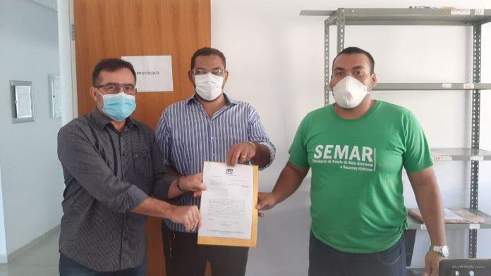 Prefeitura de Oeiras protocola ICMS Ecológico 2020 na SEMAR