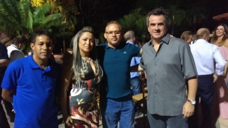 Prefeito Dr. Francisco participa de encontro na casa do senador Ciro Nogueira