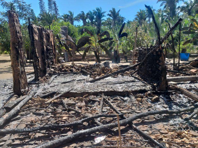 Incêndio destrói residência e família perde tudo no PI