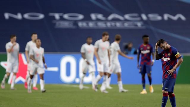 Bayern atropela Barcelona por 8 a 2 e avança na competição