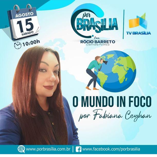 Programa inédito na TV Brasileira irá cobrir as ações das Embaixadas