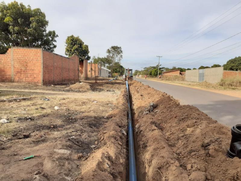 Águas de Timon investe em melhorias de rede no bairro Perpétuo Socorro
