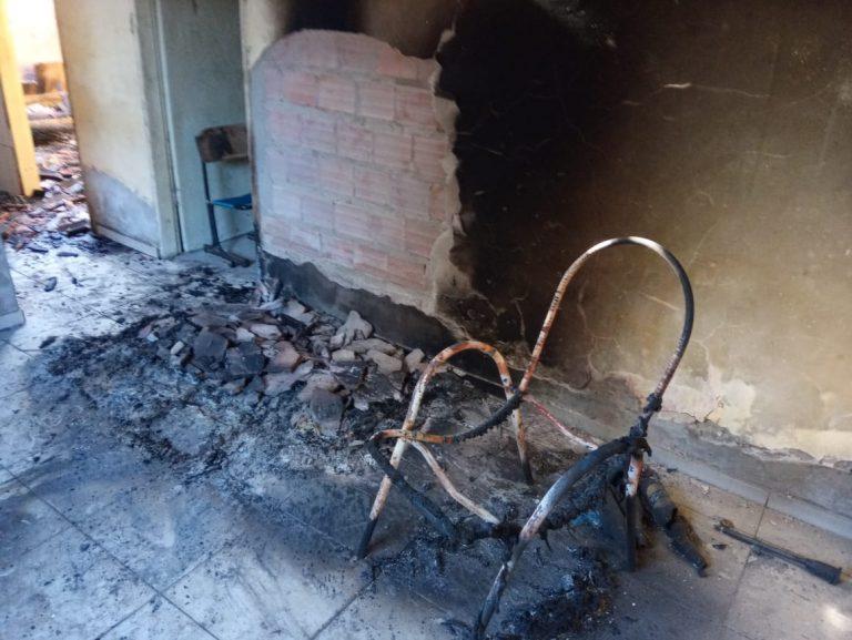 Incêndio na residência
