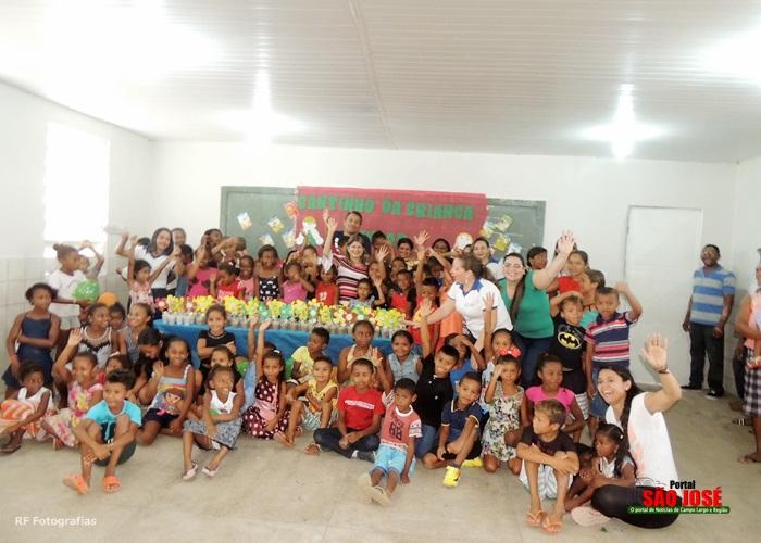 """Monitores do Programa """"Criança Feliz"""" Visita Crianças Das Vilas Em Campo Largo-PI"""