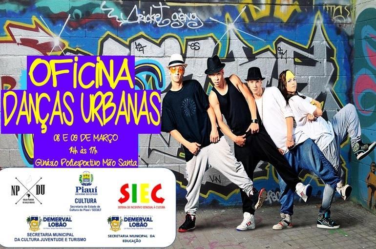 Demerval Lobão | secretarias municipais promovem oficina de danças urbanas para jovens