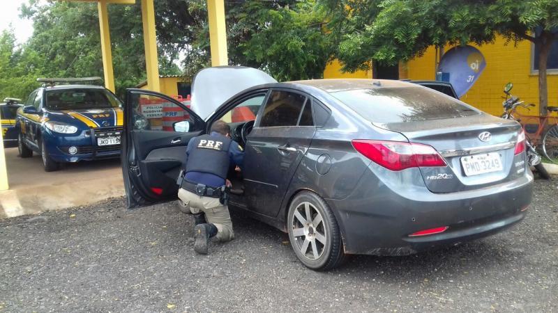 Veículo roubado em Fortaleza é recuperado no Piauí