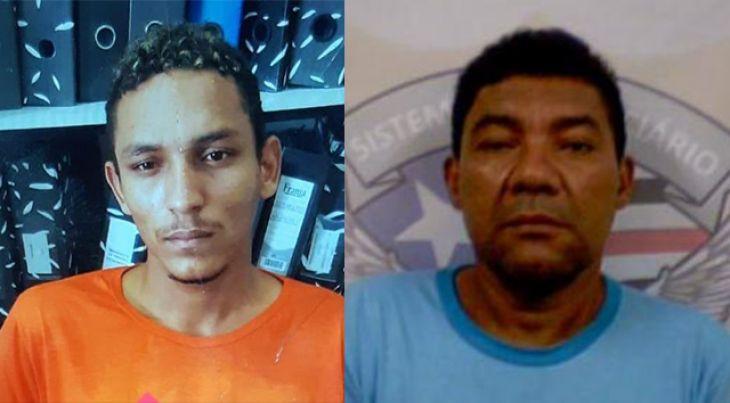 Jorge Bacuri e Tostão são caxienses e bastante conhecidos da polícia