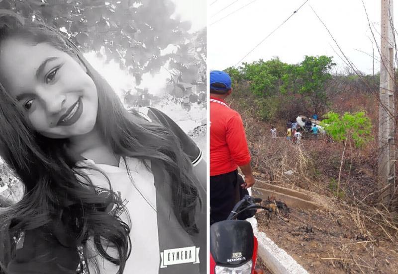 Adolescente morre em acidente próximo ao lixão de Parnarama