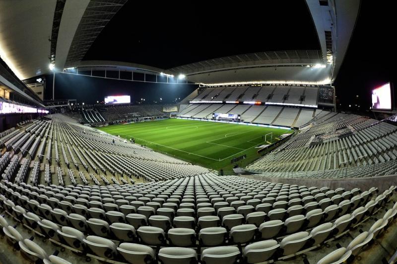 Arena Corinthians terá novo nome após venda de naming rights — Foto: Marcos Ribolli/GE