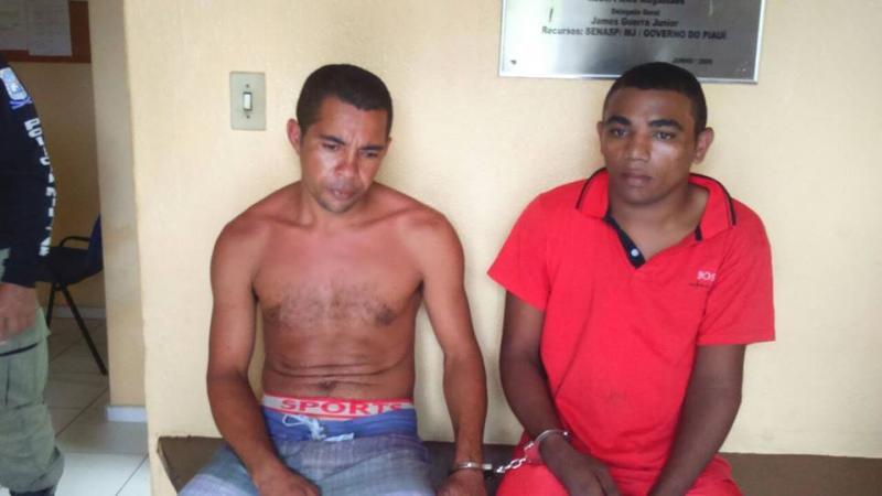 Policia de Porto prende dois fugitivos de Esperantina