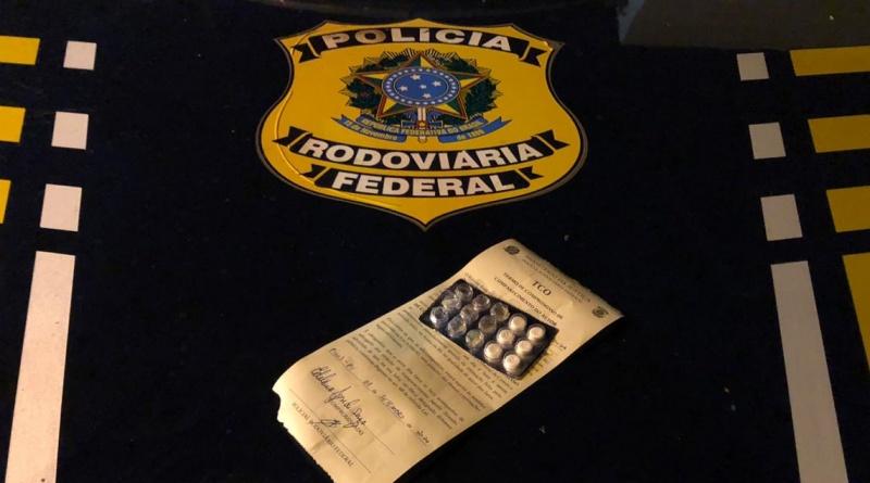 Caminhoneiro é preso na BR 316 sob efeito de drogas