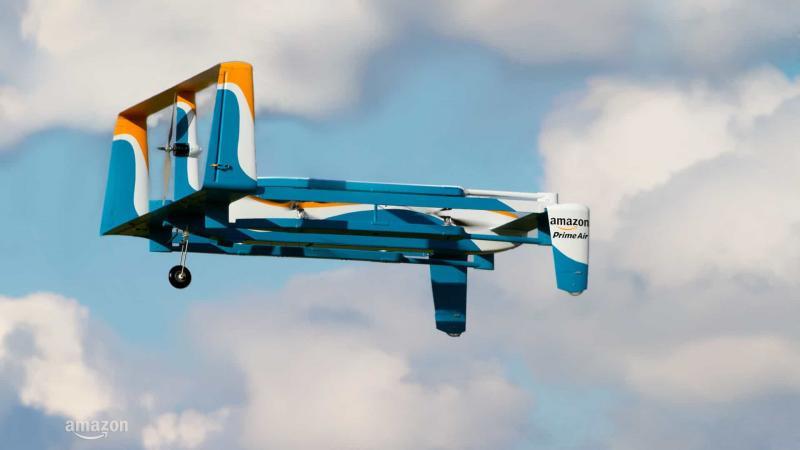 Amazon recebe aprovação para entregar encomendas com drones