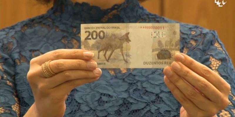 Banco Central lança nota de R$ 200, estampada por lobo-guará