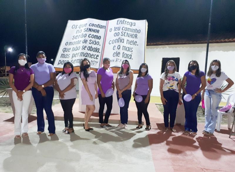 Capitão de Campos: Mulheres da Igreja Filadálfia comemoram Agosto Lilás