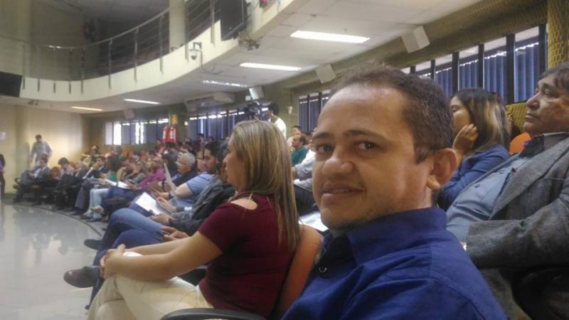 Vereador Chico Chagas participa de evento no TRE
