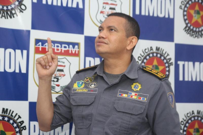 Após gestão exitosa à frente11º BPM-MA Comandante Ribeiro se despede de Timon