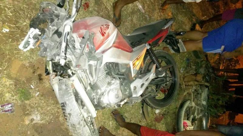 Colisão entre motos deixa um morto e quatro feridos na PI-238