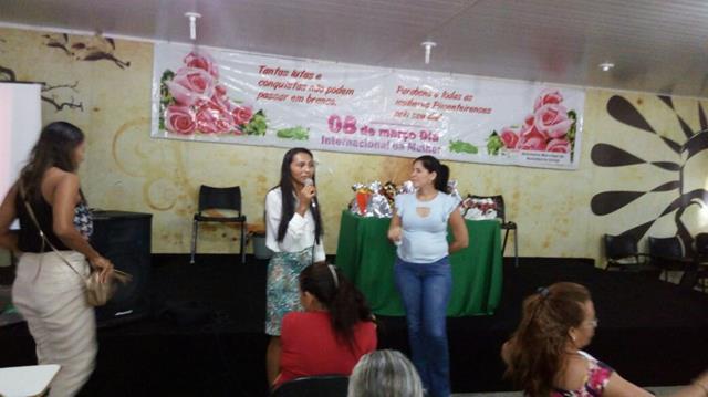 Dia Internacional da Mulher é comemorado em Pimenteiras