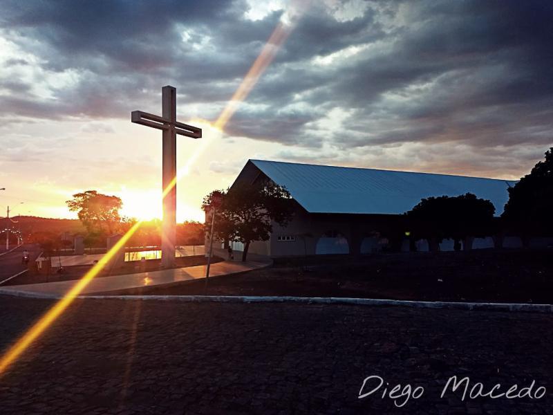 Igreja em Santa Cruz dos Milagres / Foto: Reprodução/Diego Macedo