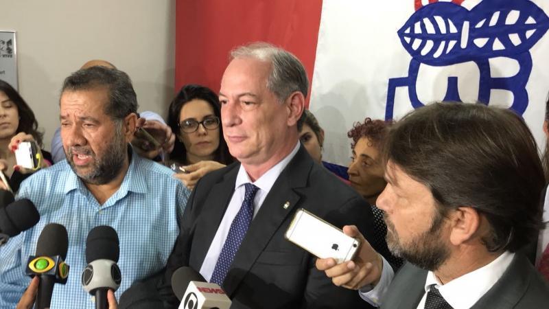PDT lança pré-candidatura de Ciro Gomes à Presidência