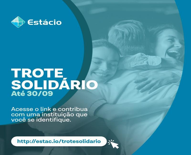 Estácio realiza Trote Solidário virtual em função da pandemia
