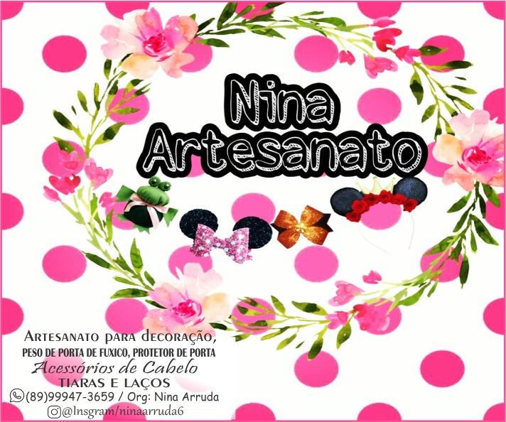 Venham conhecer a Nina Arruda Artesanatos para decorações