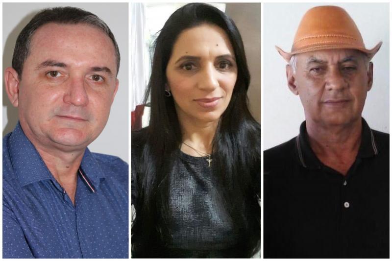Murilo, Toinha Gomes e Ferreira Filho / Foto: reprodução