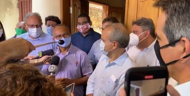 Ciro Nogueira anuncia R. Silva como vice de Montezuma