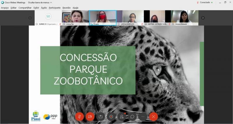 OAB PI discute projeto de concessão do Parque Zoobotânico com SUPARC