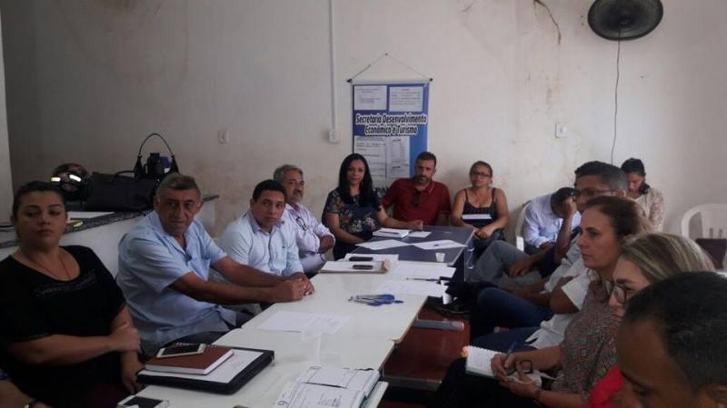 Secretários municipais de Corrente participam de capacitação