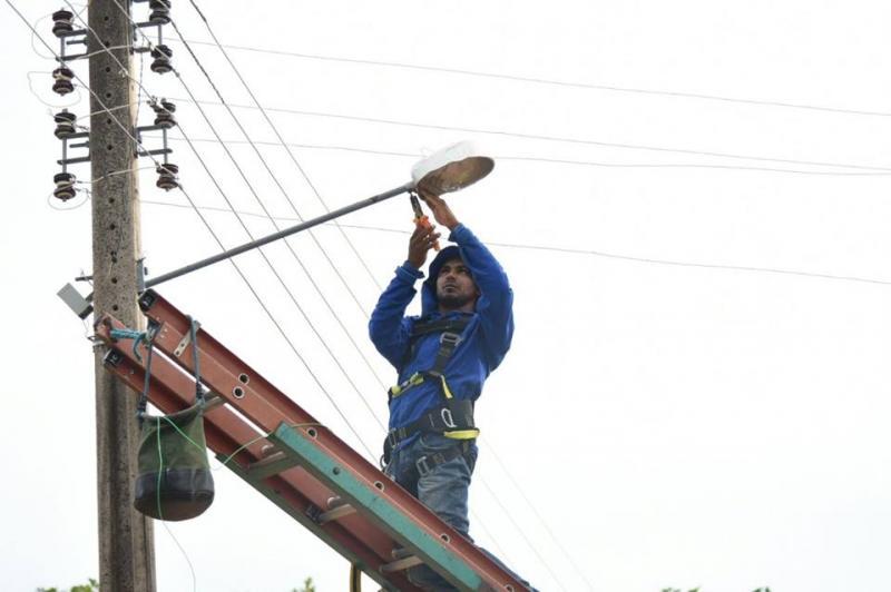 Iluminação pública de Floriano recebe ação intensiva de reparos