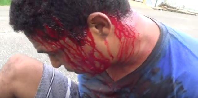 Amarantino é agredido por populares após roubar mulher em Teresina