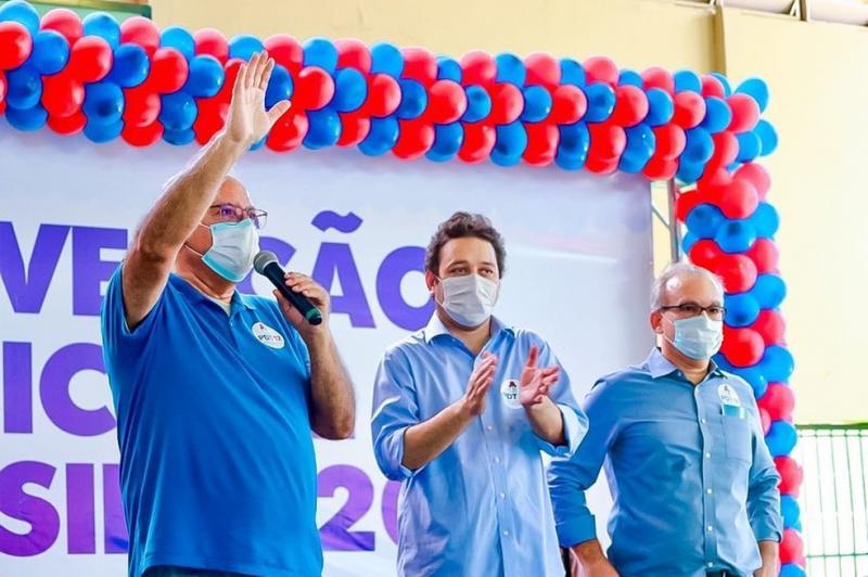 PDT oficializa apoio a candidatura de Montezuma