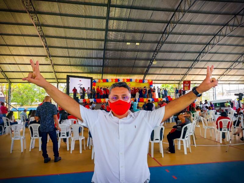 Dudu oficializa candidatura a vereador pelo PT