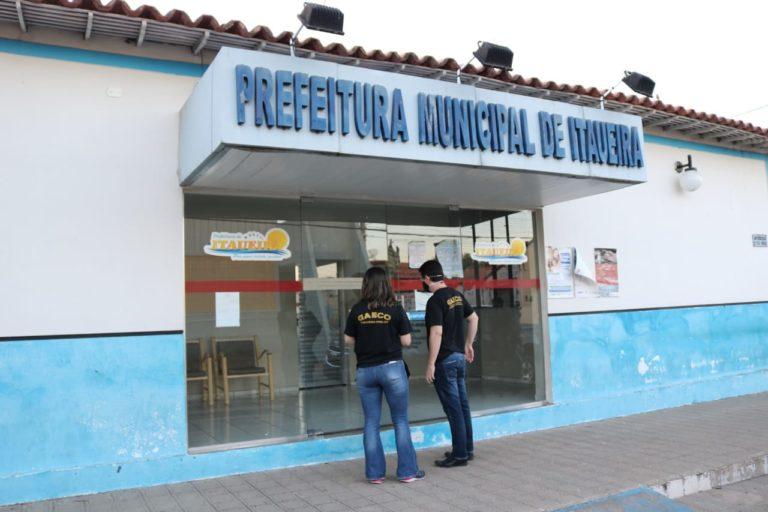 Gaeco faz operação contra desvio de recursos públicos em Itaueira