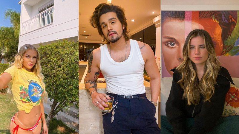 Luísa Sonza, Luan Santana e Giulia Be farão live musical juntos
