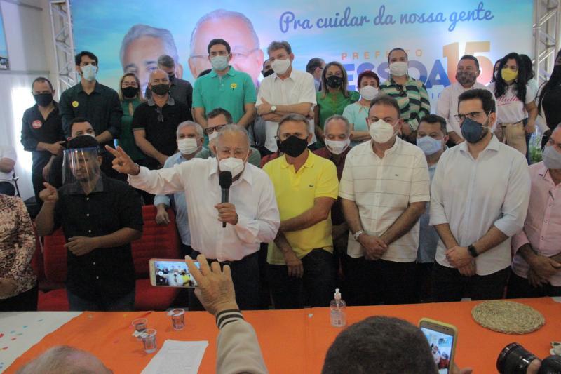 Luiz Lobão oficializa candidatura à reeleição pelo MDB