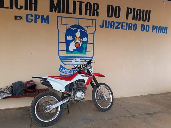 Exclusivo: PM recupera motocicleta furtada do proprietário da Banda Pressão Musical