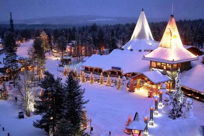 Terra do Papai Noel se prepara para frio e solitário inverno turístico