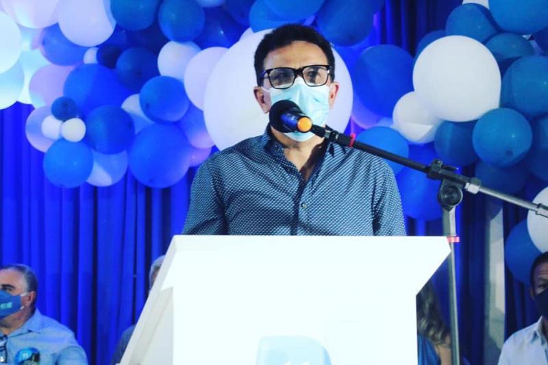 Zé Santana participa de convenção do MDB em Castelo do Piauí