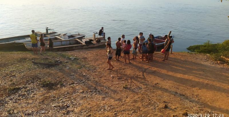 Pai e dois filhos morrem afogados no Rio Parnaíba em União